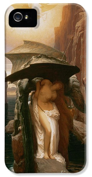 Pegasus iPhone 5 Case - Perseus And Andromeda by Frederic Leighton