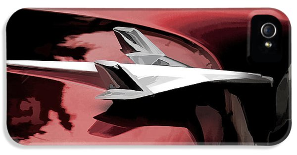 Red Chevy Jet IPhone 5 / 5s Case by Douglas Pittman