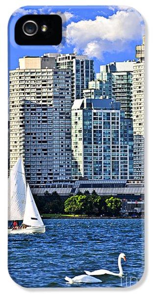 Sailing In Toronto Harbor IPhone 5 Case