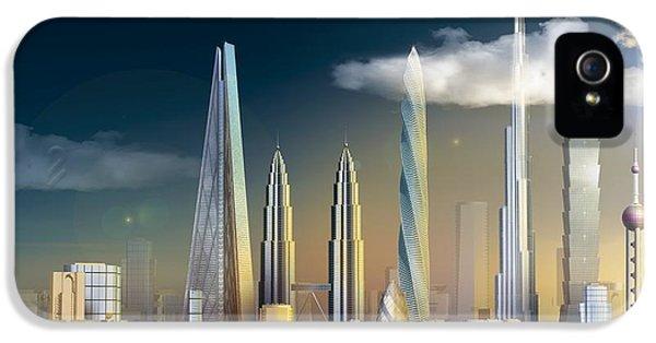 World's Tallest Buildings, Artwork IPhone 5 Case