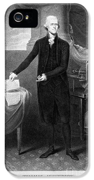 Thomas Jefferson (1743-1826) IPhone 5 Case
