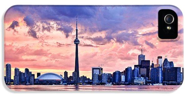 Toronto Sunset Skyline IPhone 5 Case