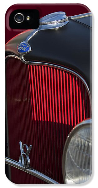 1932 Ford Roadster Grille 3 IPhone 5 Case