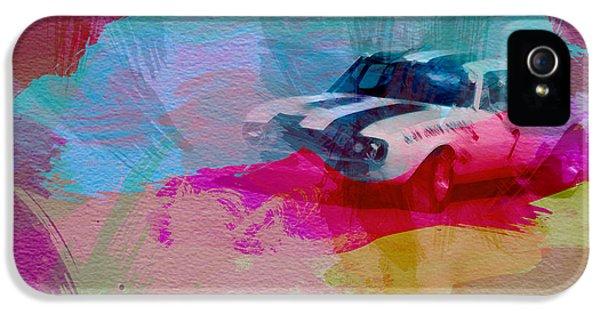 1968 Chevy Camaro IPhone 5 Case by Naxart Studio