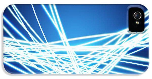 Abstract Of Weaving Line IPhone 5 Case by Setsiri Silapasuwanchai