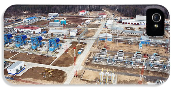 Gas Fuel Compressor Plant IPhone 5 Case