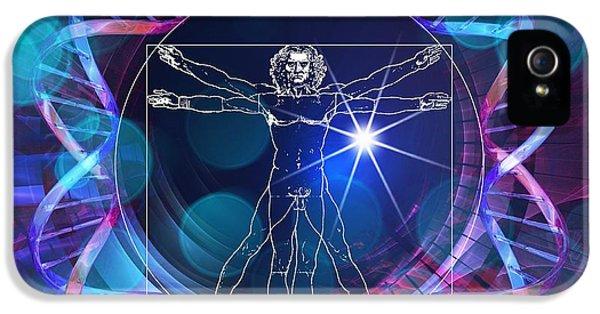 Human Genome, Conceptual Artwork IPhone 5 Case