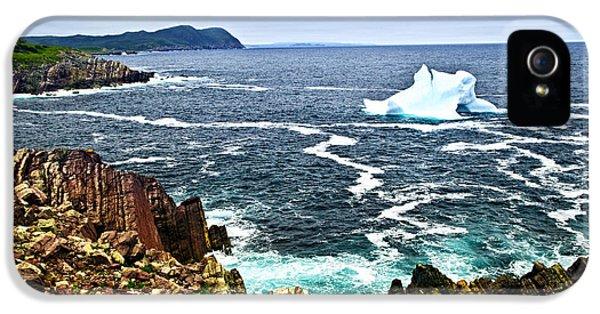 Melting Iceberg IPhone 5 Case by Elena Elisseeva