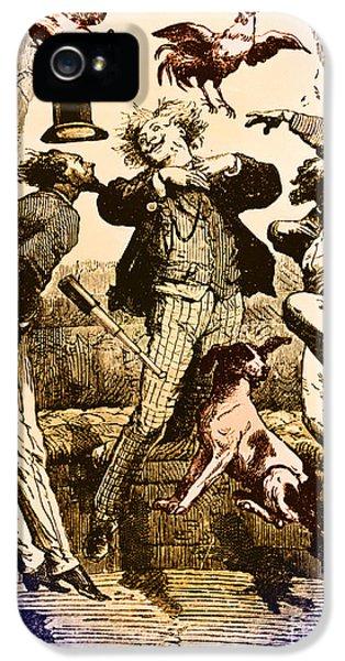 Weightlessness, 19th Century IPhone 5 Case