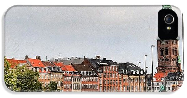House iPhone 5 Case - Copenhagen by Luisa Azzolini