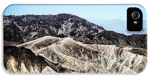 Cool iPhone 5 Case - Death Valley by Luisa Azzolini