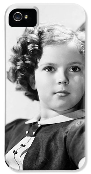 Shirley Temple (1928-  ) IPhone 5 Case by Granger
