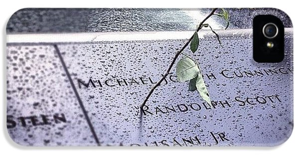 Summer iPhone 5 Case - 9/11 Memorial by Randy Lemoine