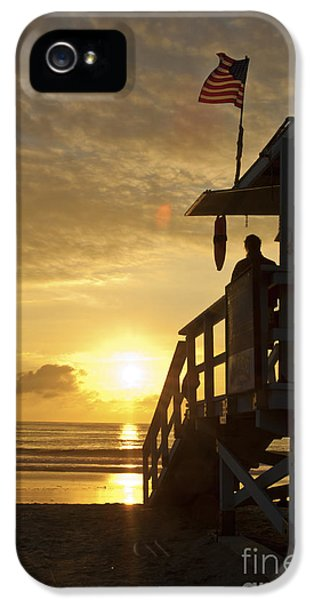 A California Sunset IPhone 5 Case by Micah May