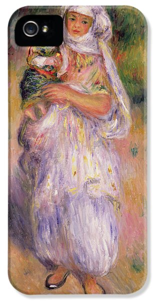 Algerian Woman And Child IPhone 5 Case by Pierre Auguste Renoir