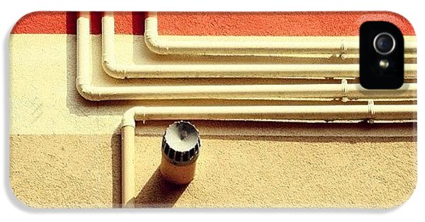 All That Jazz #geometry #color #pipes IPhone 5 Case
