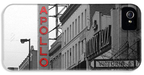 Apollo Theater In Harlem New York No.1 IPhone 5 Case by Ms Judi
