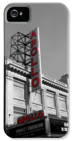 Apollo Theater In Harlem New York No.2 IPhone 5 Case by Ms Judi