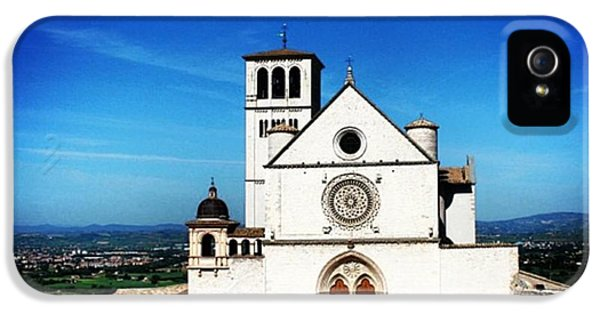 Architecture iPhone 5 Case - Assisi by Luisa Azzolini