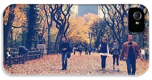 City iPhone 5 Case - Autumn by Randy Lemoine