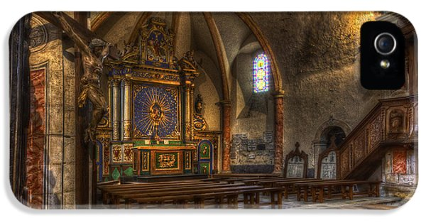 Baroque Church In Savoire France 2 IPhone 5 Case