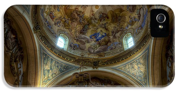 Baroque Church In Savoire France 5 IPhone 5 Case