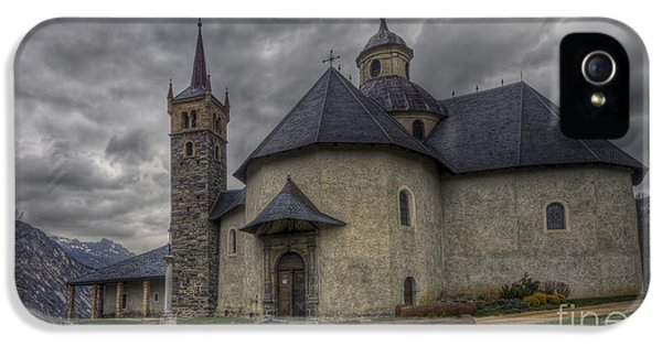 Baroque Church In Savoire France 6 IPhone 5 Case