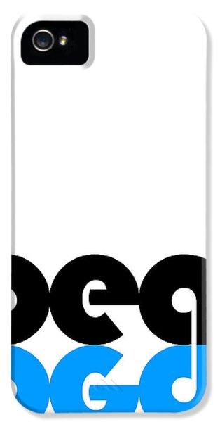 Beat Poster IPhone 5 Case by Naxart Studio