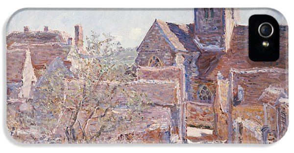Town iPhone 5 Case - Bennecourt by Claude Monet