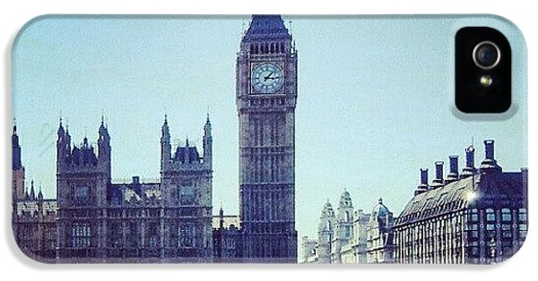 #bigben #buildings #westminster IPhone 5 Case