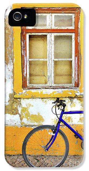 Bicycle iPhone 5 Case - Bike Window by Carlos Caetano