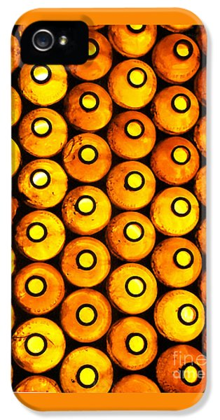 IPhone 5 Case featuring the photograph Bottle Pattern by Nareeta Martin