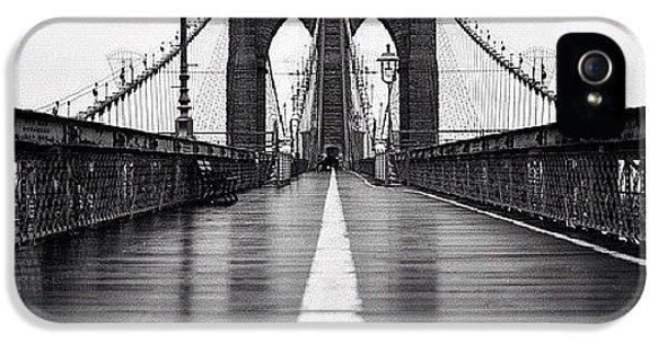 Summer iPhone 5 Case - Brooklyn Bridge by Randy Lemoine