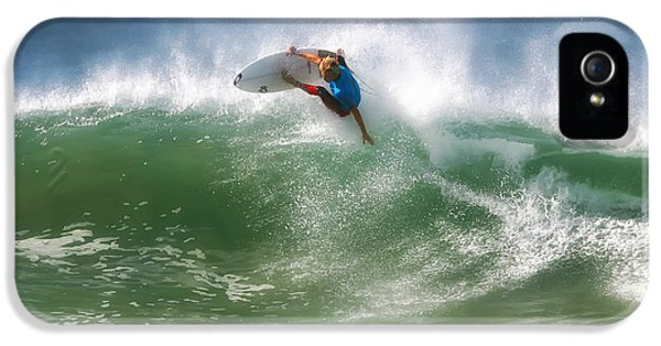 California Surfing 1 IPhone 5 Case by Larry Marshall