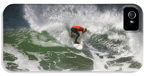 California Surfing 4 IPhone 5 Case by Larry Marshall