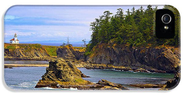 Cape Arago Lighthouse At Shore Acres IPhone 5 Case