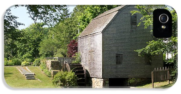 Cape Cod Water Mill IPhone 5 Case by Christiane Schulze Art And Photography