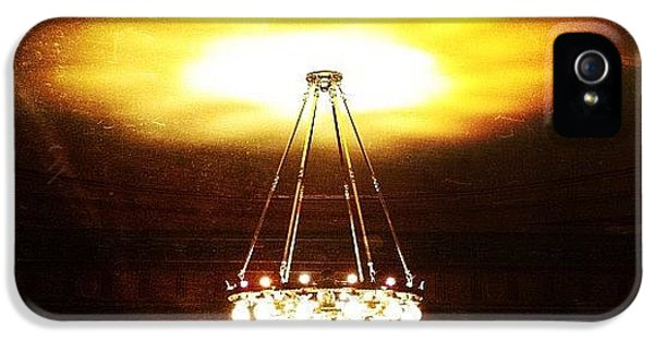 Light iPhone 5 Case - Chandelier by Natasha Marco