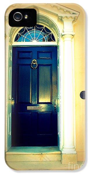 Charleston Door 3 IPhone 5 Case by Susanne Van Hulst
