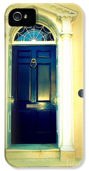 Charleston Door 4 IPhone 5 Case by Susanne Van Hulst