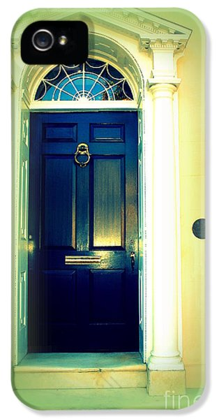 Charleston Door 5 IPhone 5 Case by Susanne Van Hulst