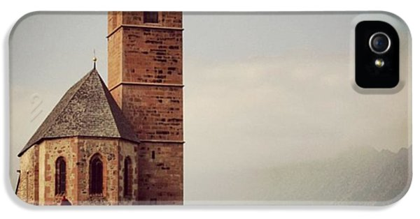 Architecture iPhone 5 Case - Church Of Santa Giustina - Alto Adige by Luisa Azzolini