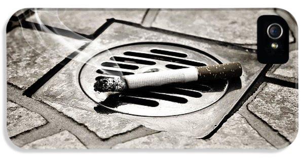 Cigarette IPhone 5 Case by Joana Kruse