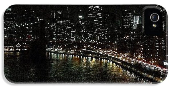 Light iPhone 5 Case - City Lights - New York by Joel Lopez