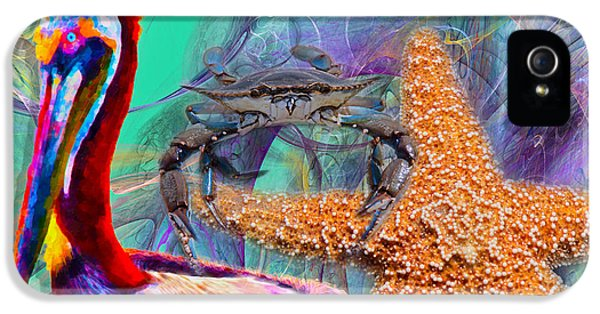 Coastal Life II IPhone 5 Case by Betsy Knapp