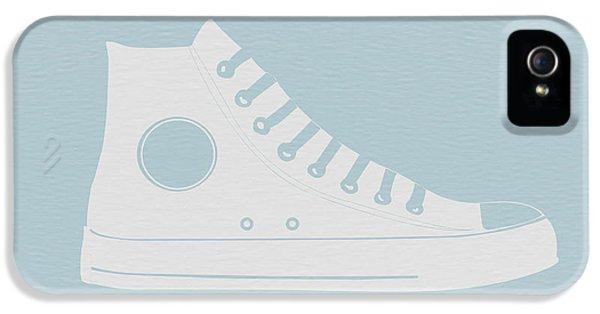 Converse Shoe IPhone 5 Case by Naxart Studio