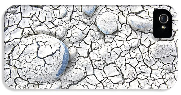 IPhone 5 Case featuring the photograph Cracked Earth by Nareeta Martin