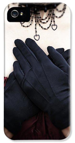 Crossed Hands IPhone 5 Case by Joana Kruse