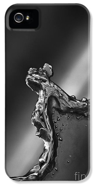 IPhone 5 Case featuring the photograph Cutting Edge Sibelius Monument by Clare Bambers