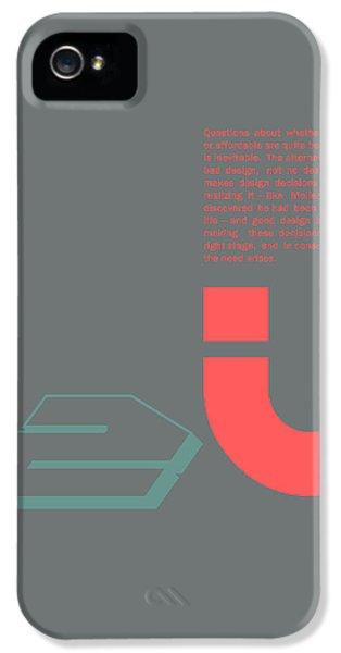 Douglas Martin Poster IPhone 5 Case by Naxart Studio